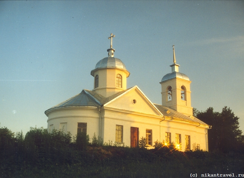 _Церковь с бликами
