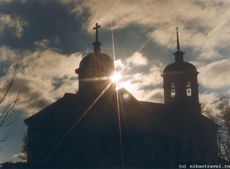 _Церковь с лучами