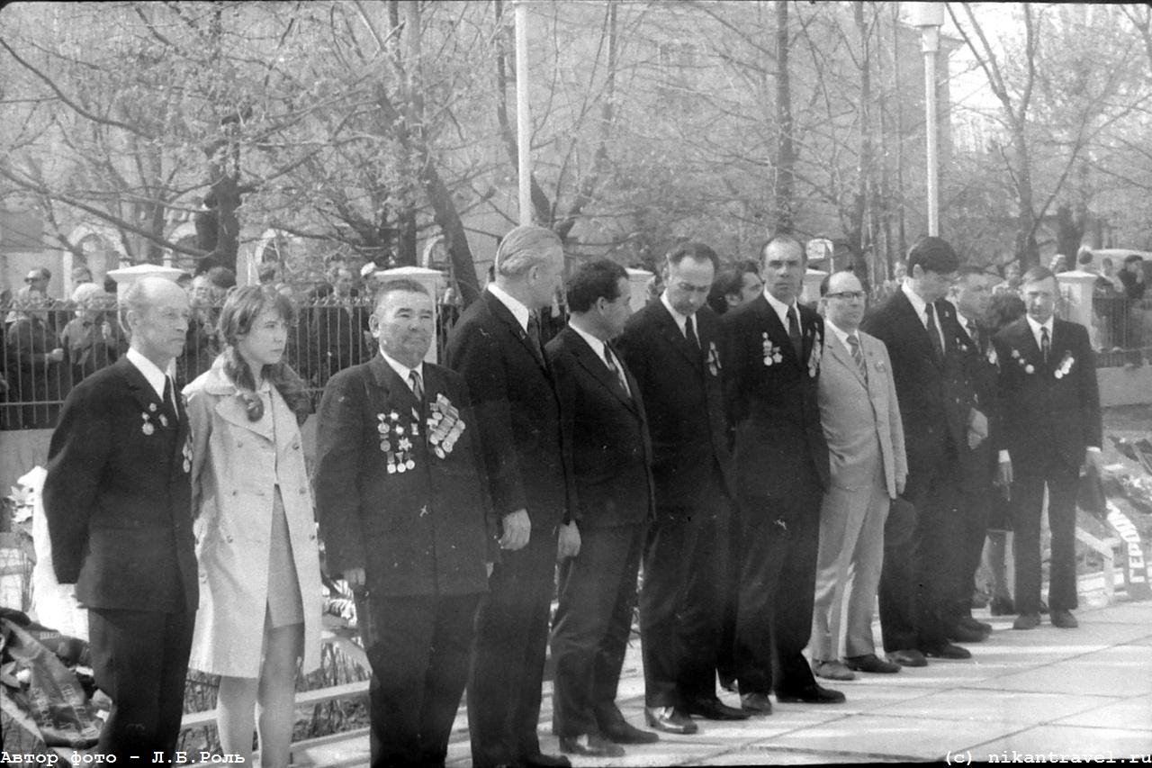 30-летие Победы в сквере